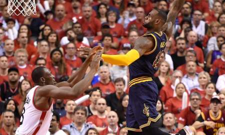 Cavaliers Squeeze Past Raptors In Playoff Rematch, 94-91