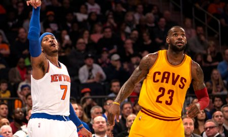 LeBron James Dominates, Cavaliers Beat Knicks On Ring Night 117-88