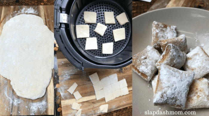 Air Fryer Funnel Cake Bites