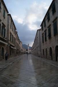 Deserted Dubrovnik