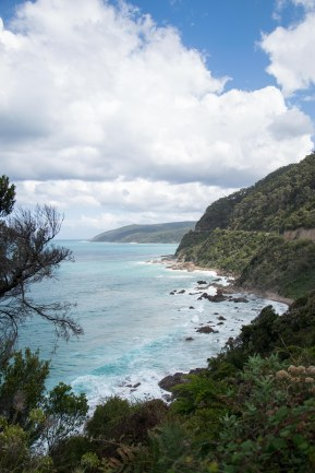 View of the Great Ocean Road