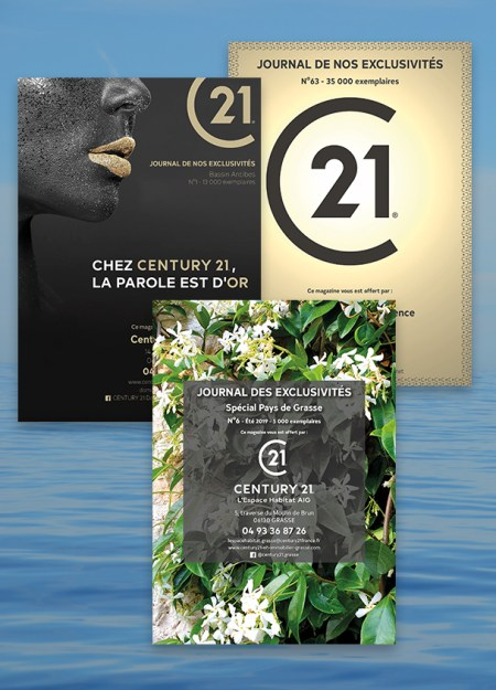 brochures Century 21 - été 2019