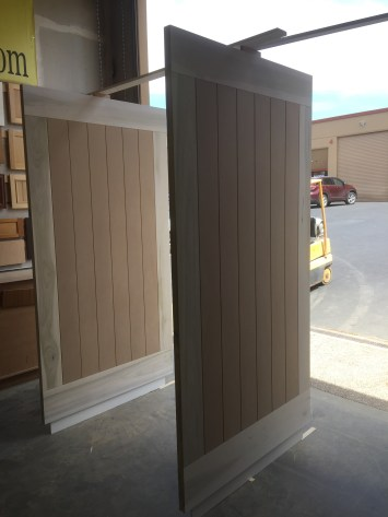 grey farm doors in progress