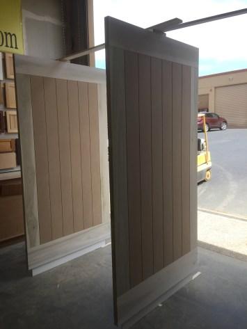 grey farm doors in progress
