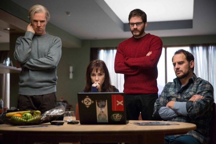 hacker movies, the fifth estate