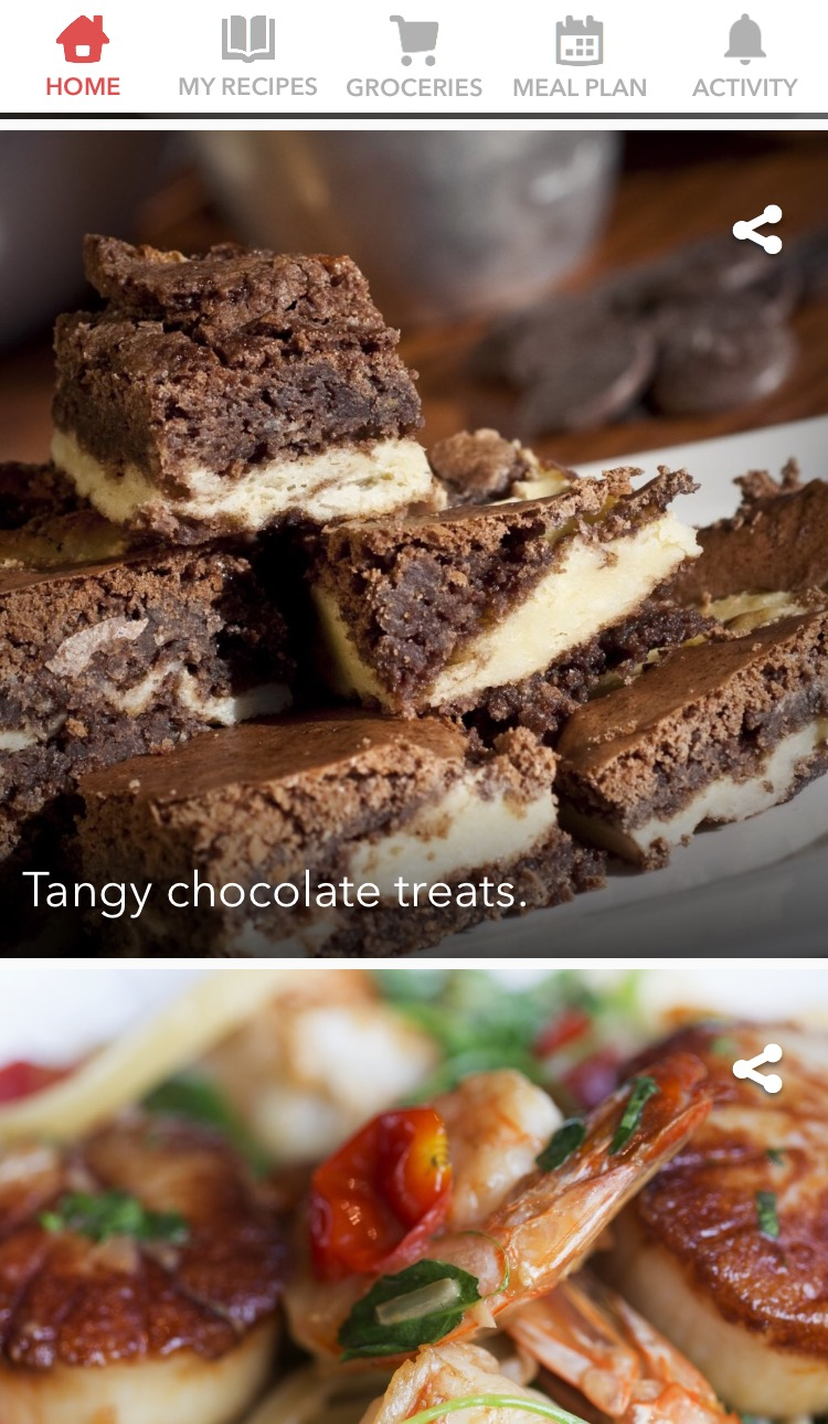 Food Apps - learn new recipes with the Bigoven app.
