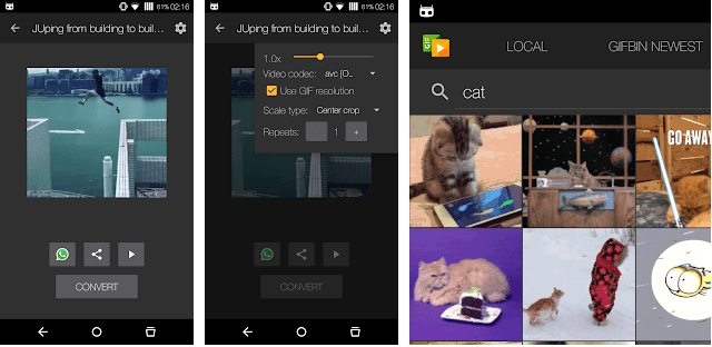 gif to video android app