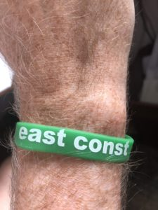 east const wrist band