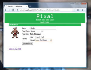 ...then personalize your Pixal appearance*