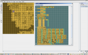 Using tiled for a section of the town map