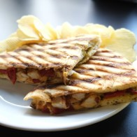 Chicken Panini is a favorite choice from an extensive lunch menu.