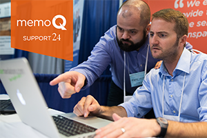 No more downtime: memoQ support works around the clock!