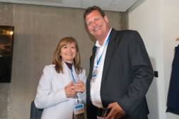 Vicenta Ten Soriano (SDL), Renato Beninatto (Globally Speaking Radio) at SlatorCon London 2017