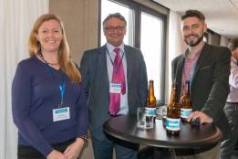 Sarah Turpin (3di Information Solutions), Neil Simpkin (RWS), John Tinsley (Iconic) at SlatorCon London 2017