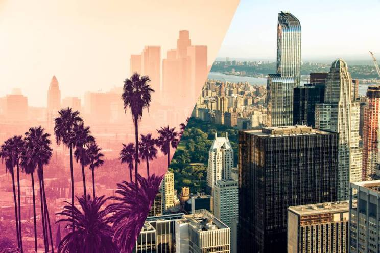Language Industry Salaries in New York 56% Higher Than in California