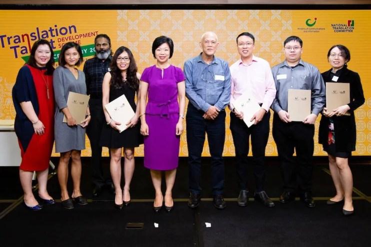In Singapore, Seven Translators Scoop Grants Worth USD 7,500