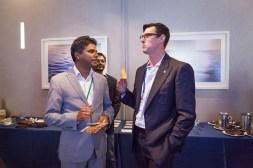 Ferose V R, Jaime Punishill at SlatorCon San Francisco 2018