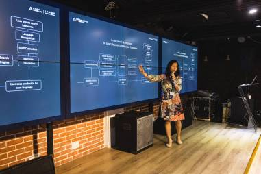Jie Li, Senior Product Operation Advisor, Alibaba Translate presentation at SlatorMeet HK2018