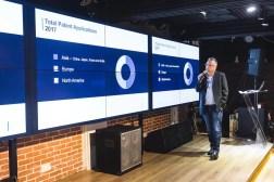 Richard Delanty, Founder of Into23, presenting at SlatorMeet Hong Kong 2018.