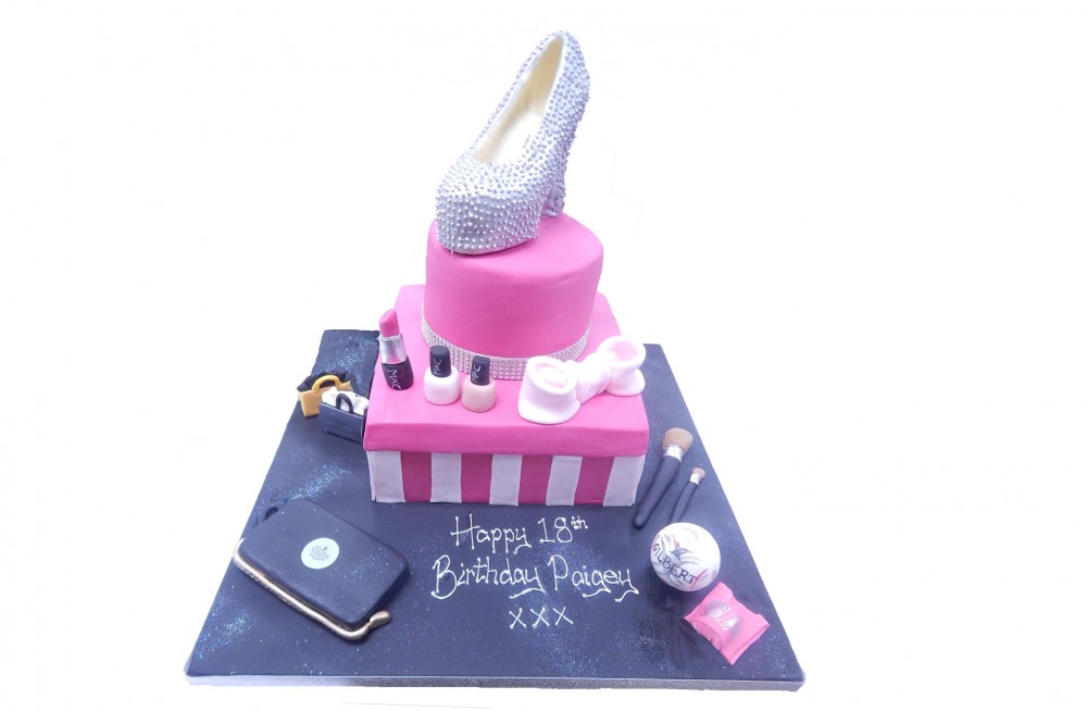 Victoria Secrets Birthday Cake