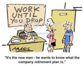 work till drop
