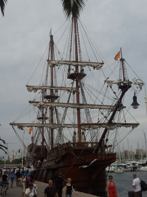 La Pepa, a 17th century Spanish Galleon