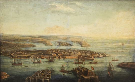 Caloriti_-_View_of_Grand_Harbour,_Marsamxett_and_Valletta