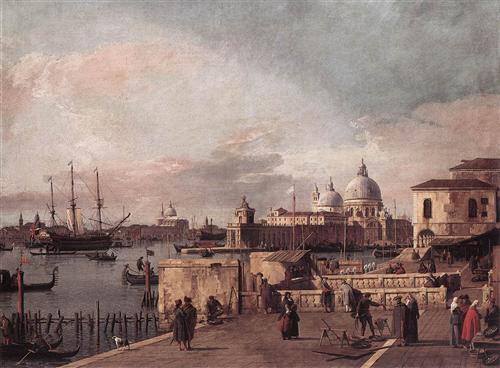 Entrance to the Grand Canal from the Molo, 1737