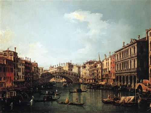 Rialto Bridge, 1737