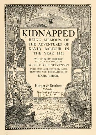 Kidnapped Frontispiece
