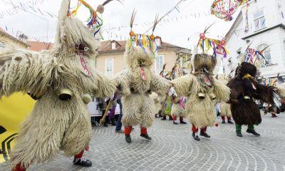 Пуст – весёлый карнавал в Словении.