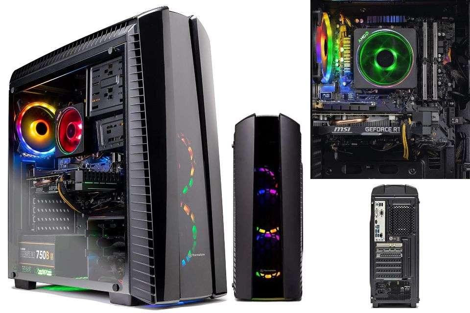 Sky Tech Shadow II Gaming Computer PC Desktop