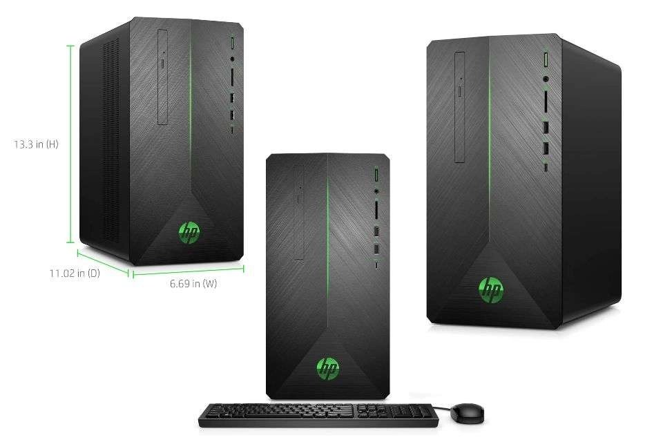 VR Ready HP Pavilion Gaming PC Desktop Computer