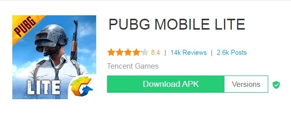 Pubg Lite Apk Download latest for 2020