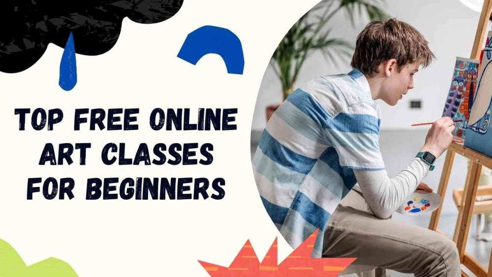 Top free online Art Classes for beginners