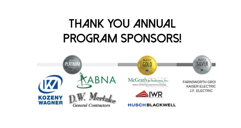 SLCCC Education Program Sponsors