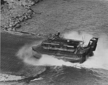 Amphibious U.S. Navy Patrol Air Cushion Vehicle (PACV)
