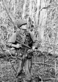 Berlin-Born Paratrooper Ruediger Richter Patrols In The Jungle