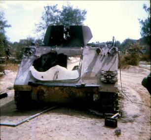 D-17 Cavalry 199th APC Hit By An RPG