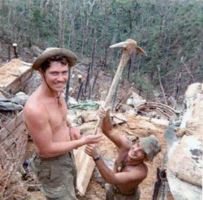 FSB Fuller Digging Bunkers