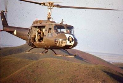 Last Known Flight of a Kingsman Bird Huey Helicopter