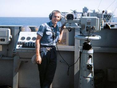 Seaman R J (Ray) Butterworth, RAN (Royal Australian Navy)