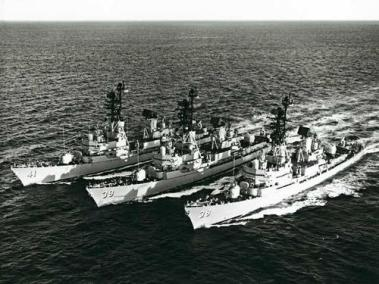 The Royal Australian Navy's Three Guided Missile Destroyers (DDGs)