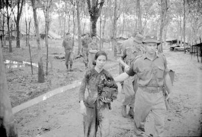 To Thi Nau A Captured Viet Cong Woman