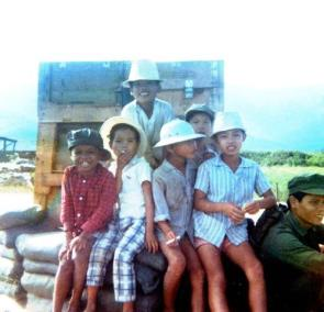 Young Boys of Nuoc Ngot Village