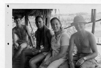 Nurse and Soldiers in Vietnam