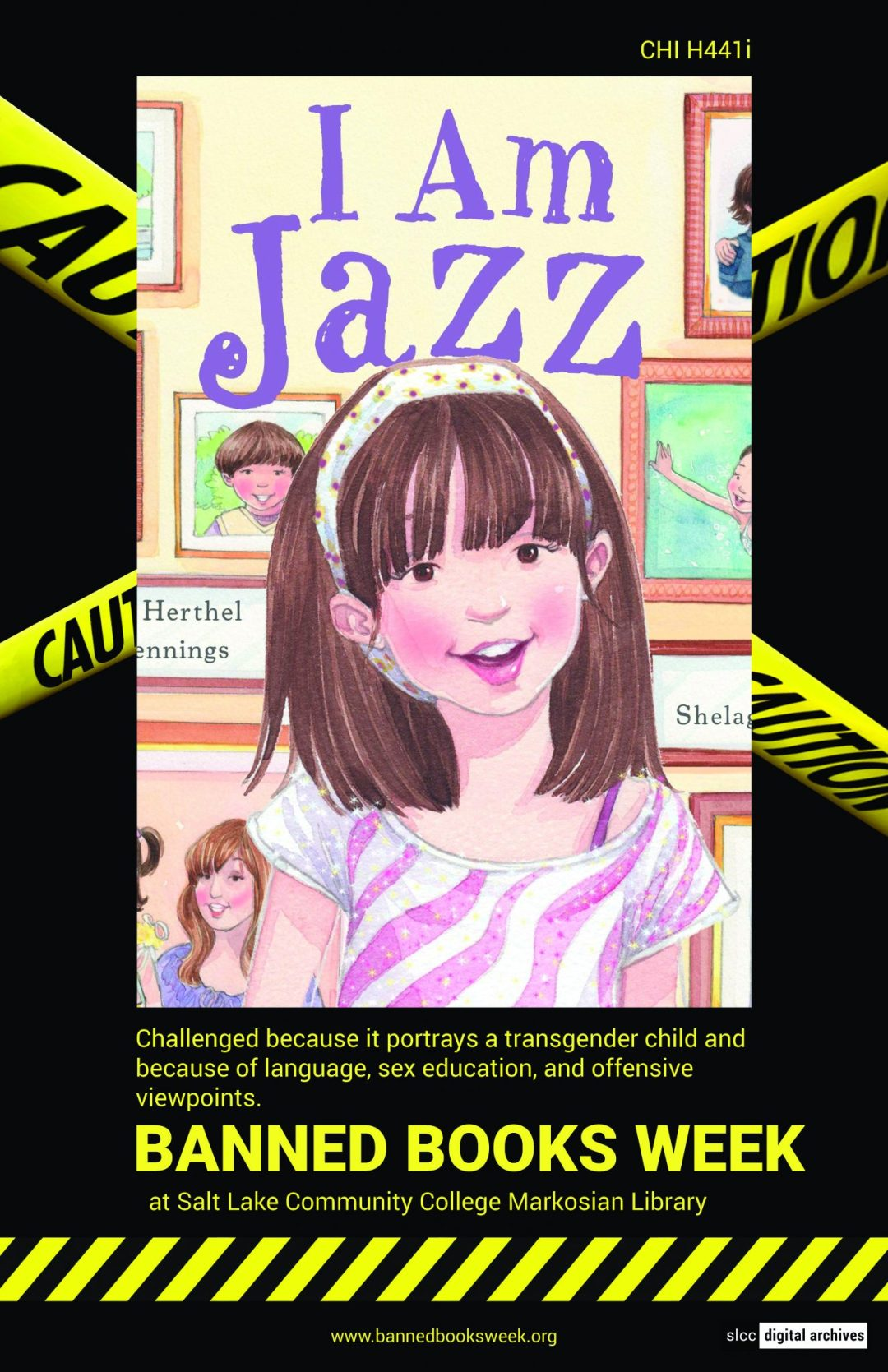 Banned Books Week Poster: I am Jazz by Jessica Herthel and Jazz Jennings