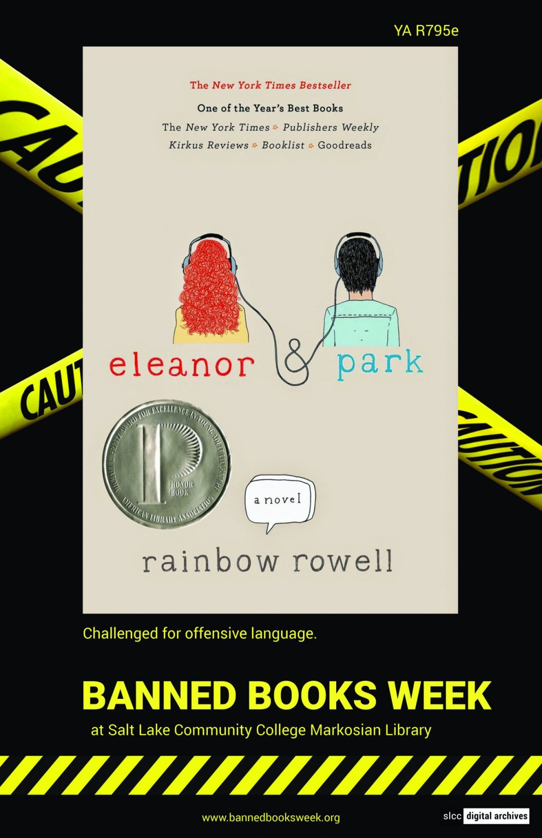 Banned Books Week Poster: Eleanor Park by Rainbow Rowell