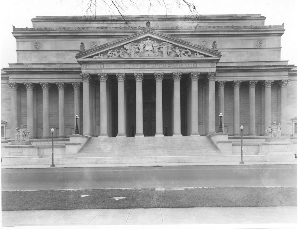 national archives building - National Archives Month