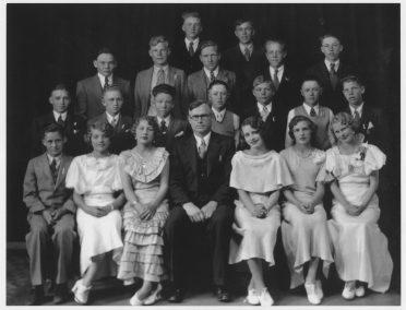 Amos Griffin Class, Newton Grade School, 1931-1933